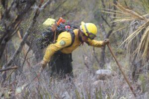 Incendio controlado al 100% en Guadalcázar