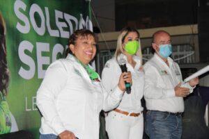 'Lucharemos por el agua hasta que vecinos no tengan que manifestarse': Leonor Noyola