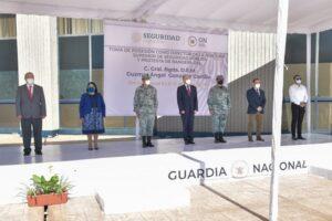 General D.E.M. Guzmar Ángel González Castillo toma protesta como director de la Academia Superior de la #GN