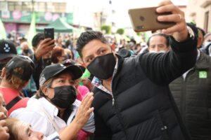 El gobernador electo Ricardo Gallardo Cardona encabeza festejos por el triunfo del pueblo y la democracia en Soledad